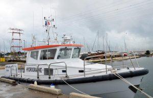 Vedette hydrographique Astrolabe du Grand Port Maritime de Bordeaux