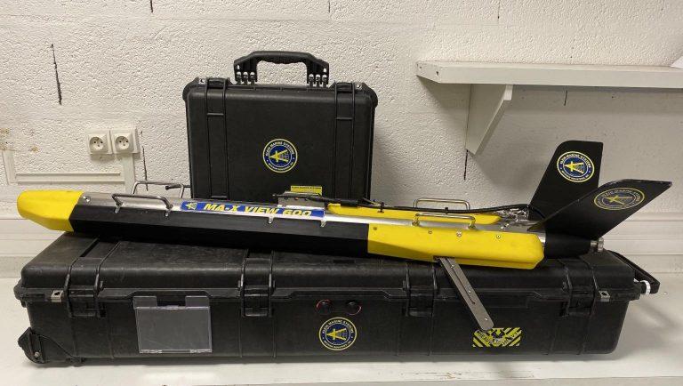 Arrivée en location du sonar Klein Marine Systems MA-X View 600