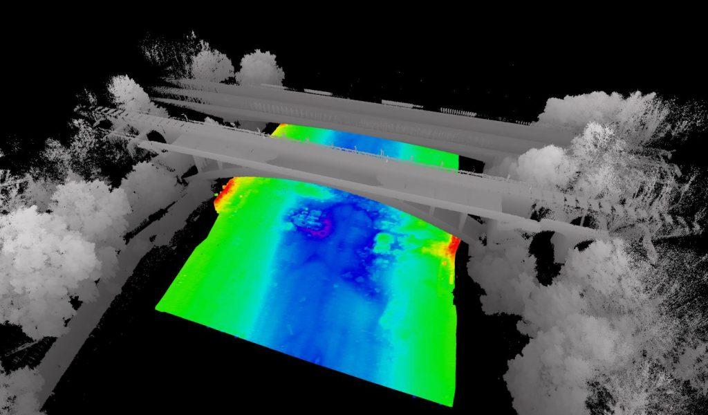 La technologie lidar intégrée sur nos drones aquatiques
