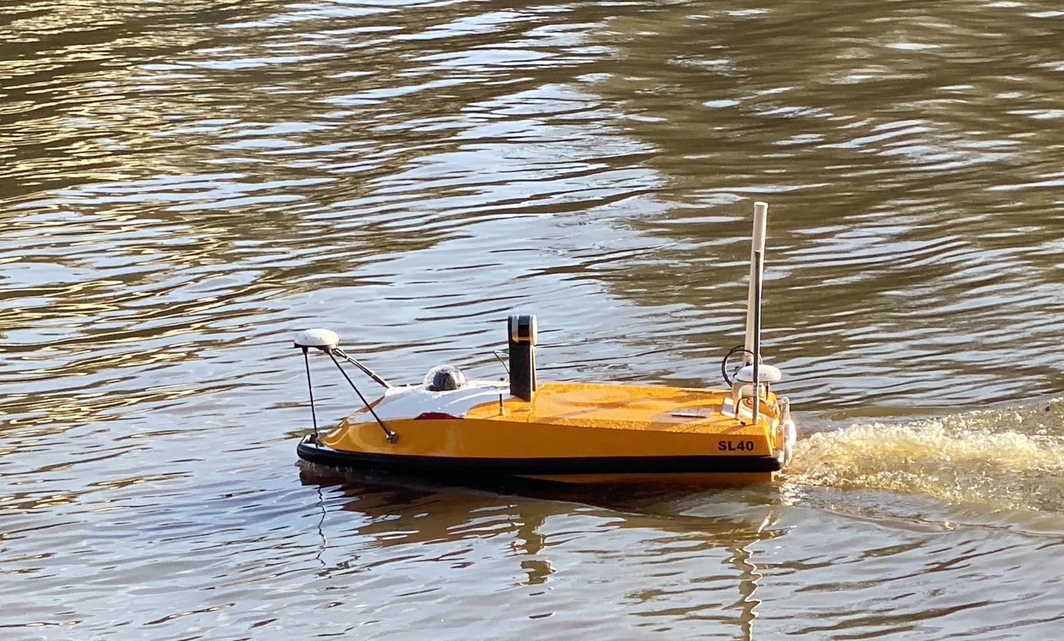 Intégration de la technologie Lidar sur un drone aquatique