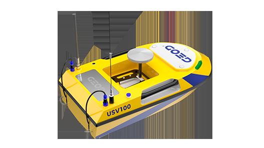 Drone marin autonome facile à transporter BALI USV100 GEOD by CADDEN