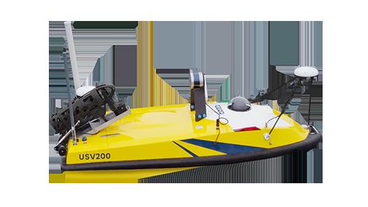 Drone bathymétrique multifaisceaux BALI USV200 multifaisceaux GEOD by CADDEN