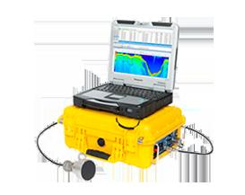 Sondeur scientifique Biosonics avec monitoring