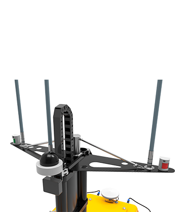 Drone aquatique avec antennes BALI USV300 GEOD by CADDEN