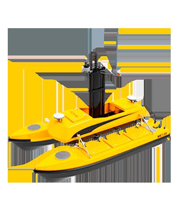 Drone aquatique pour bathymétrie BALI USV300 GEOD by CADDEN