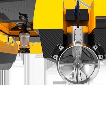 Drone aquatique puissant et efficace BALI USV300 GEOD by CADDEN