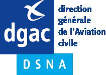 Logo DGAC direction générale de l'aviation civile