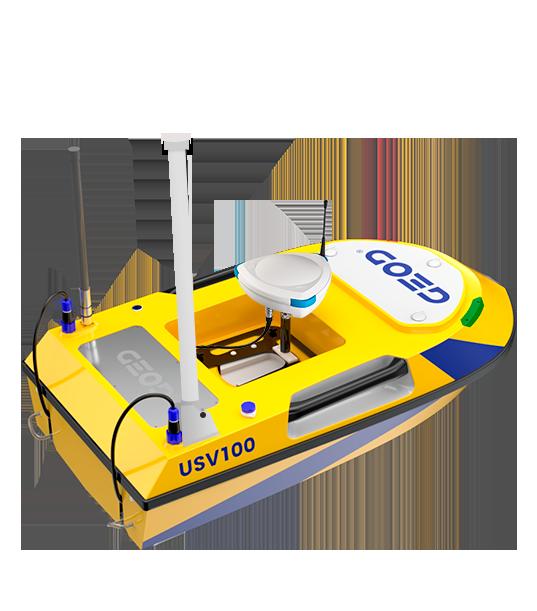 Drone bathymétrie autonome BALI USV100 conçu en France par GEOD by Cadden