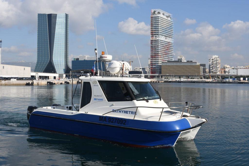 Navette hydrographique Grand Port Maritime de Marseille