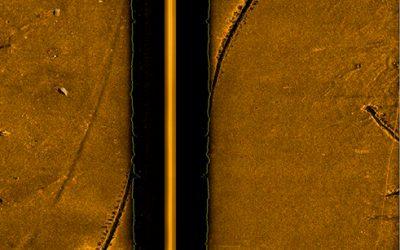 Sonar-balayage-lateral-Klein-rendu
