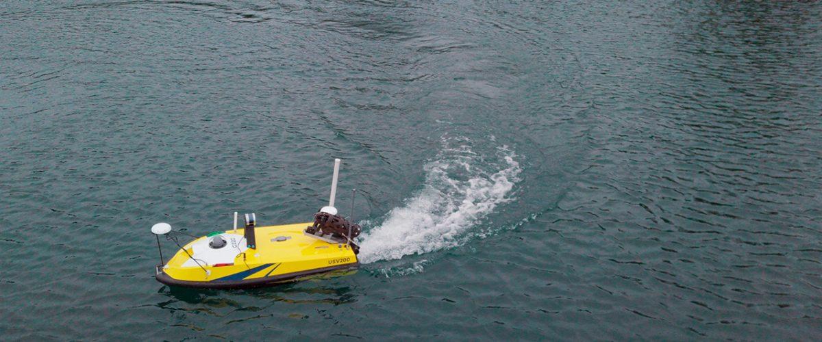 Drone bathymétrique multifaisceaux compatible avec multicapteurs BALI USV200 GEOD