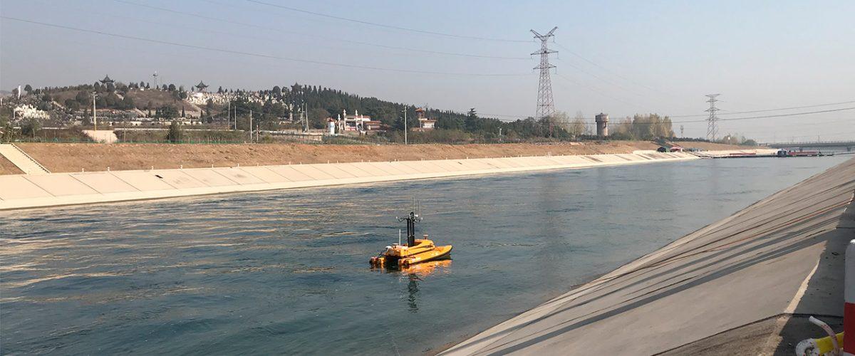 Drone aquatique et de surface pour hydrographie BALI USV300 GEOD by CADDEN