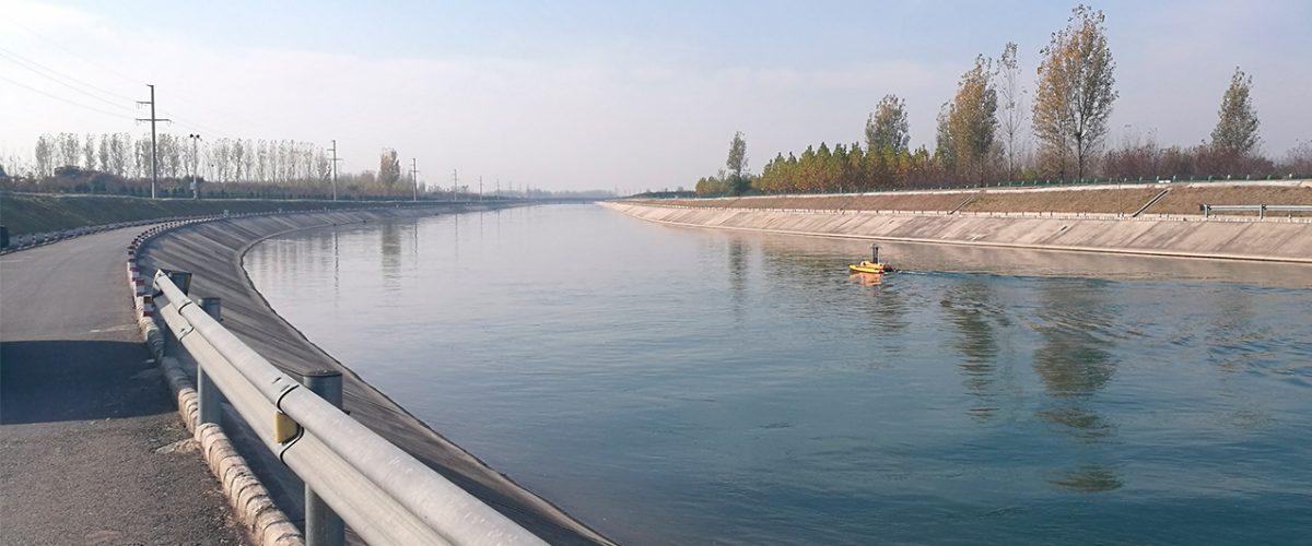 Drone aquatique pour levés hydrographiques BALI USV300 GEOD by CADDEN