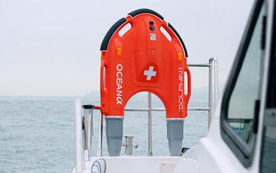 Bouée de sauvetage télécommandée Dolphin pour sauvetage et secours
