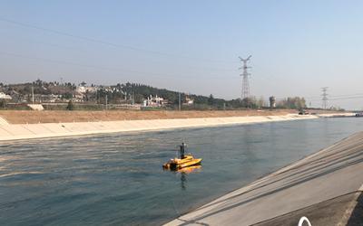 Drone hydrographique Ocean Alpha ME120 pour levés bathymétriques