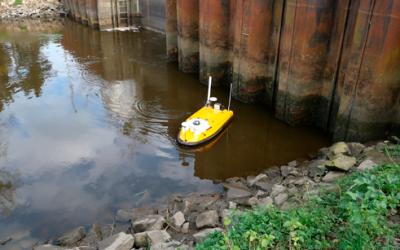 Drone hydrographique Ocean Alpha SL 40 pour levés bathymétriques