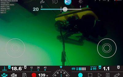 ROV drones sous-marin MarineNav idéal pour missions d'inspections