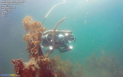 ROV drones sous-marin MarineNav en missions d'inspection et surveillance