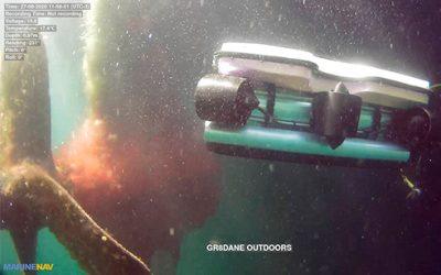 ROV drones sous-marin MarineNav pour sécurité et surveillance