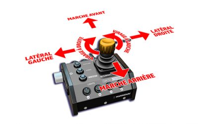 ROV drones sous-marin MarineNav avec télécommande joystick facile à manipuler